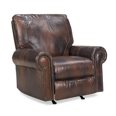 brown sale pu sofa homcom glider rocking repair best furniture chair power chairs electric a rocker leather buy swivel recliner