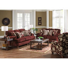 Olivia Living Room 3-Piece Furniture Set