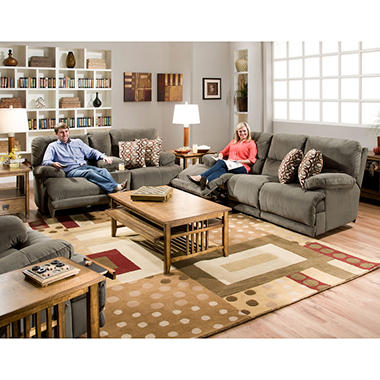 Shelby Reclining Living Room 3-Piece Furniture Set