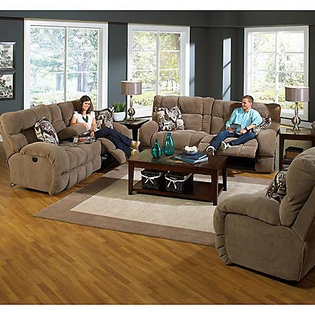 Savannah Reclining Oversize Living Room 2-Piece Set
