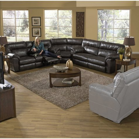 Judson Reclining Oversize Sectional Living Room 3-Piece Set