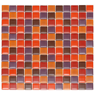 Passion Mosaic Glass Tile - 6 - 12