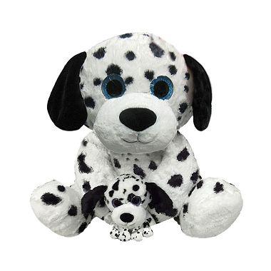 Eye Enormous Plush Dalmatian With Baby Sam S Club
