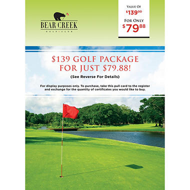 Bear Creek Golf Club - $139 for $79.88