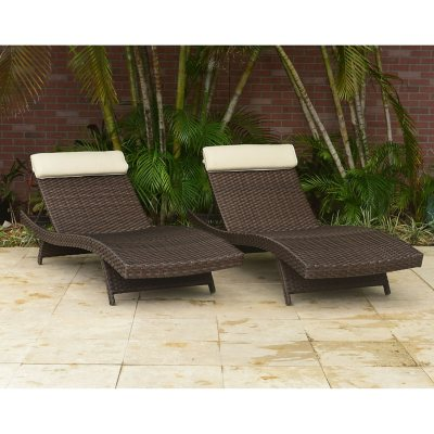 Patio Chairs Outdoor Daybed Outdoor Lounges Sams Club