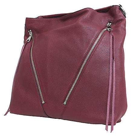 Moto Leather Hobo Handbag by Rebecca Minkoff