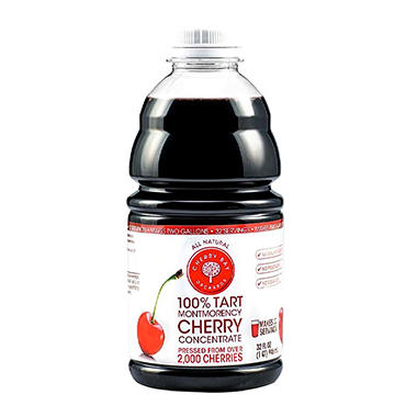 Cherry Bay Orchards 100% Tart Montmorency Cherry Concentrate (32 oz.)