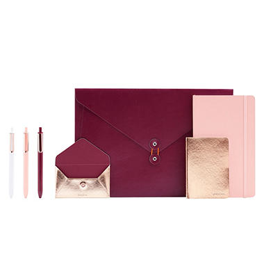 Poppin Present Yourself Interview Collection - 7-Piece Set (Various Colors)