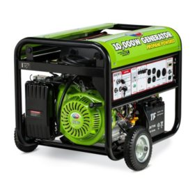 All Power 7,500 / 10,000 Watt Propane-Powered Generator with Electric Start