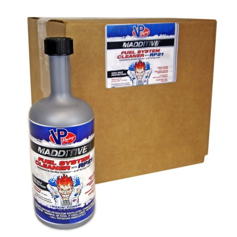 VP Racing Madditive Fuel System Cleaner (9-pack / 16-ounce bottles)