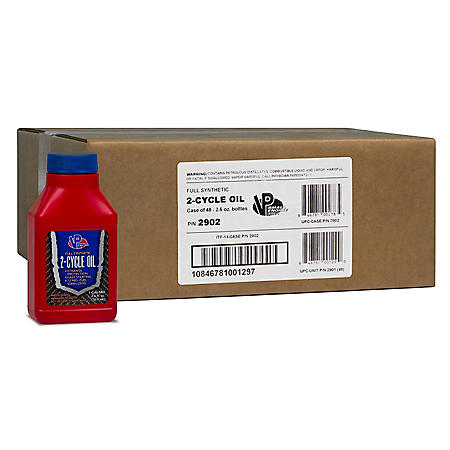 VP Small Engine Fuels Synthetic 2-Cycle Oil (48-pack / 2.6-ounce bottles)