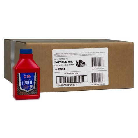 VP Small Engine Fuels Synthetic 2-Cycle Oil (24-pack / 5.2-ounce bottles)