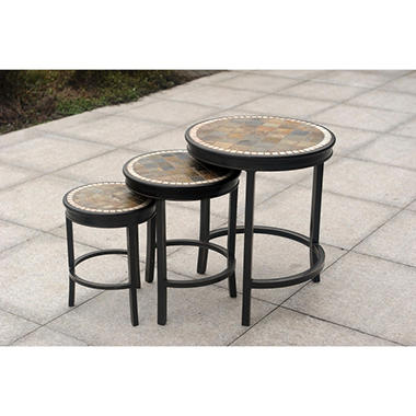 Heirloom Accent Tables - 3 pc.