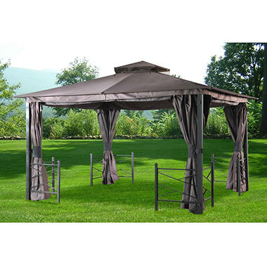 Sunjoy Biminy 12' x 10'  Soft Top  Gazebo