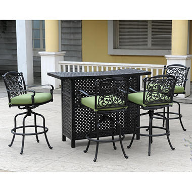 Renaissance Outdoor Bar Set 5 Pc