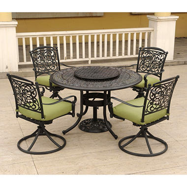 Renaissance Cast Aluminum Dining Set - 7 pc.