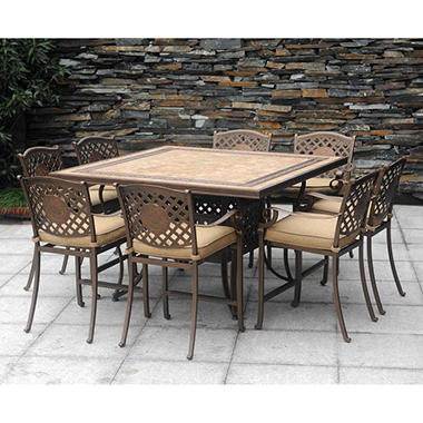 Chateau Patio High Dining Set   9 Pc.