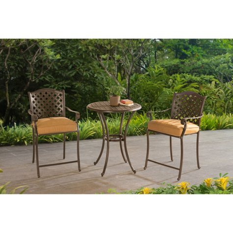 Sunjoy 3-Piece Bistro Set