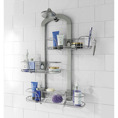 Artika U4 Shower Caddy With Adjustable Baskets