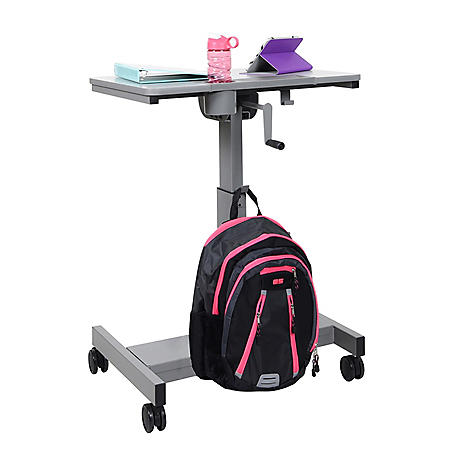Sit/Stand Desk with Crank Handle