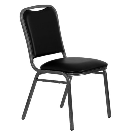Flash Furniture Hercules Series Vinyl Banquet Chair Black