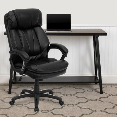 Flash Furniture Hercules Series HighBack Leather Executive Office