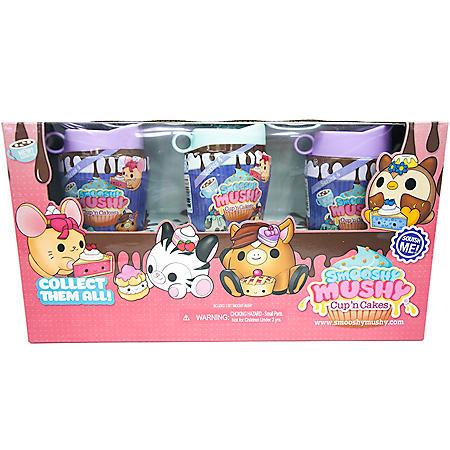 Smooshy Mushy Core Pet 3 pack