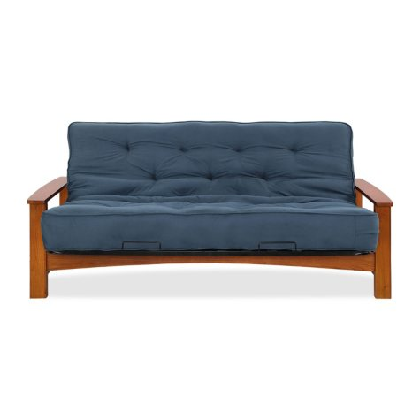 """Simmons Beautyrest Vancouver Futon with 8"""" Innerspring Mattress (Assorted Colors)"""