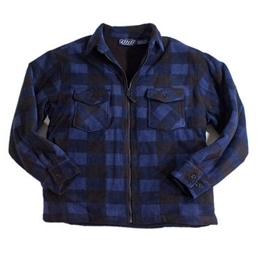 PLAID JKTBLUE XXL .COM ONLY DSV