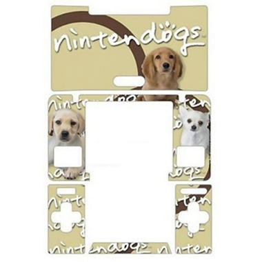 Gamer Graffix Nintendogs Skin for the DS Lite