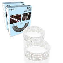 Set of 2 - All Occasions Indoor Outdoor 16FT LED Rope Light TRUE-Tech360 Degree Directional Shine