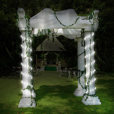 32 ft led mini rope light cold white two 16 ft strings sams led mini rope light cold white two 16 ft strings aloadofball Images