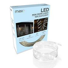 Meilo 16ft. LED Mini Rope Light TRUE-Tech360 Degree Directional Shine (Assorted Colors)