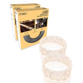 Meilo 16ft LED Rope Light (Assorted Colors) - Set of 2