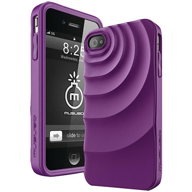 Musubo Ripple Case for iPhone 4/4s - Purple