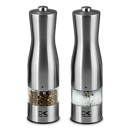 Kalorik Copper Electric Salt and Pepper Mills