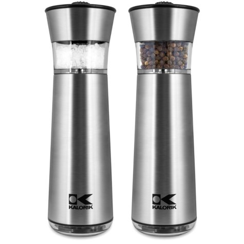 Kalorik Gravity Electric Salt and Pepper Mills