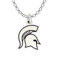 Michigan State University Sterling Silver Collegiate Jewelry Collection (Assorted Styles)