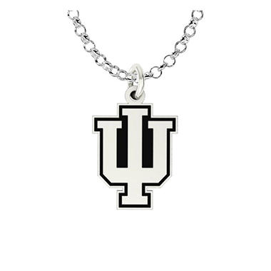 University of Indiana Sterling Silver Collegiate Jewelry Collection (Assorted Styles)
