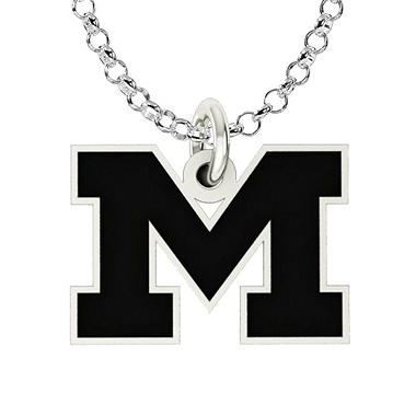 University of Michigan Sterling Silver Collegiate Jewelry Collection (Assorted Styles)