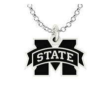 Mississippi State University Sterling Silver Collegiate Jewelry Collection (Assorted Styles)