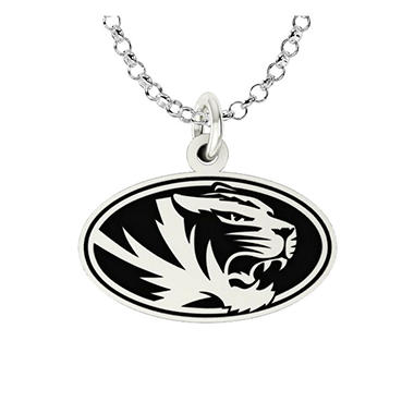 University of Missouri Sterling Silver Collegiate Jewelry Collection (Assorted Styles)