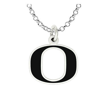 University of Oregon Sterling Silver Collegiate Jewelry Collection (Assorted Styles)