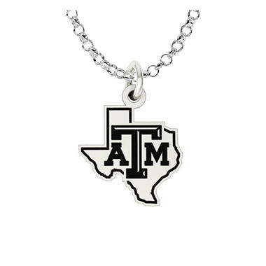 Texas A&M Sterling Silver Collegiate Jewelry Collection (Assorted Styles)
