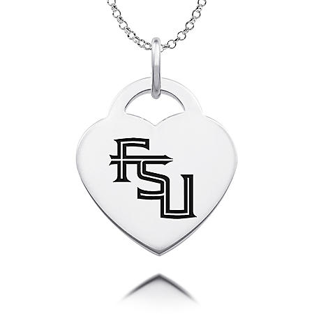 925 PENDANT FLORIDA STATE HEART