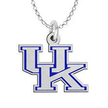Fiora Kentucky Sterling Silver Logo Necklace (Assorted Styles)