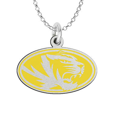 Fiora Missouri Sterling Silver Logo Necklace (Assorted Styles)