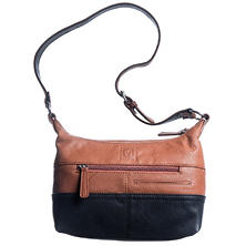 Stone Mountain Selina Hobo Leather Handbag