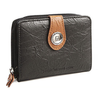 Stone Mountain Small Nubuck Leather Wallet