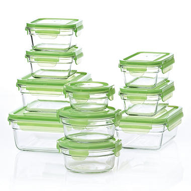 Glasslock® Food Storage System - 20 Piece Set